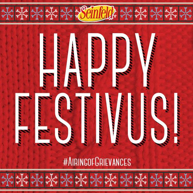 """This is the best Festivus ever!"" Happy #Festivus, Seinfeld fans! https://t.co/ntg3kXdL2W"