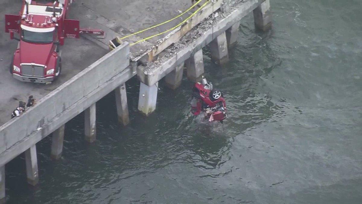 Richard k mccrocklin 52 of eustis id 39 s as man who drove for Skyway bridge fishing pier