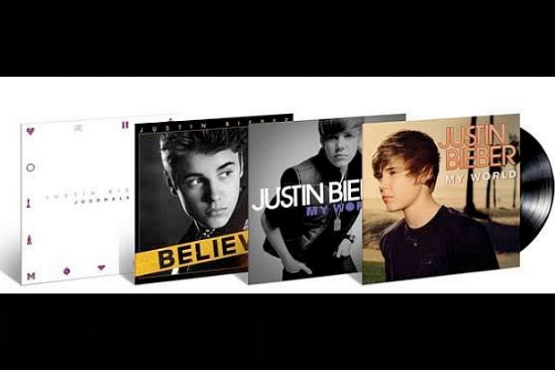 #Beliebers @justinbieber's first 4 releases coming on vinyl in the new year, inc. 'Journals' https://t.co/aA7uIPnHDx https://t.co/8WnQiVGwJU