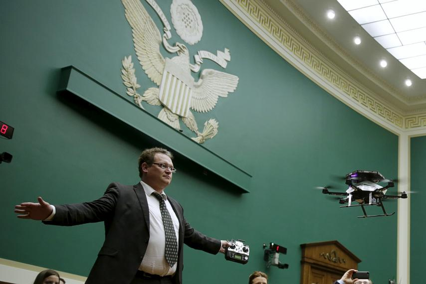 The Federal Aviation Administration wants owners to register their drones. But is it legal?