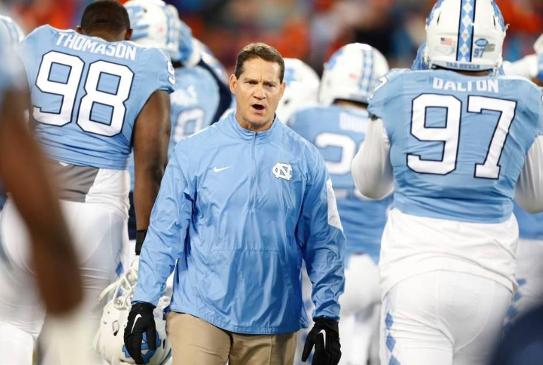 ".@TarHeelFootball's Gene Chizik wants to ""finish everything out here."" https://t.co/Uw67d0T2mG https://t.co/FT6Ircl4LH"