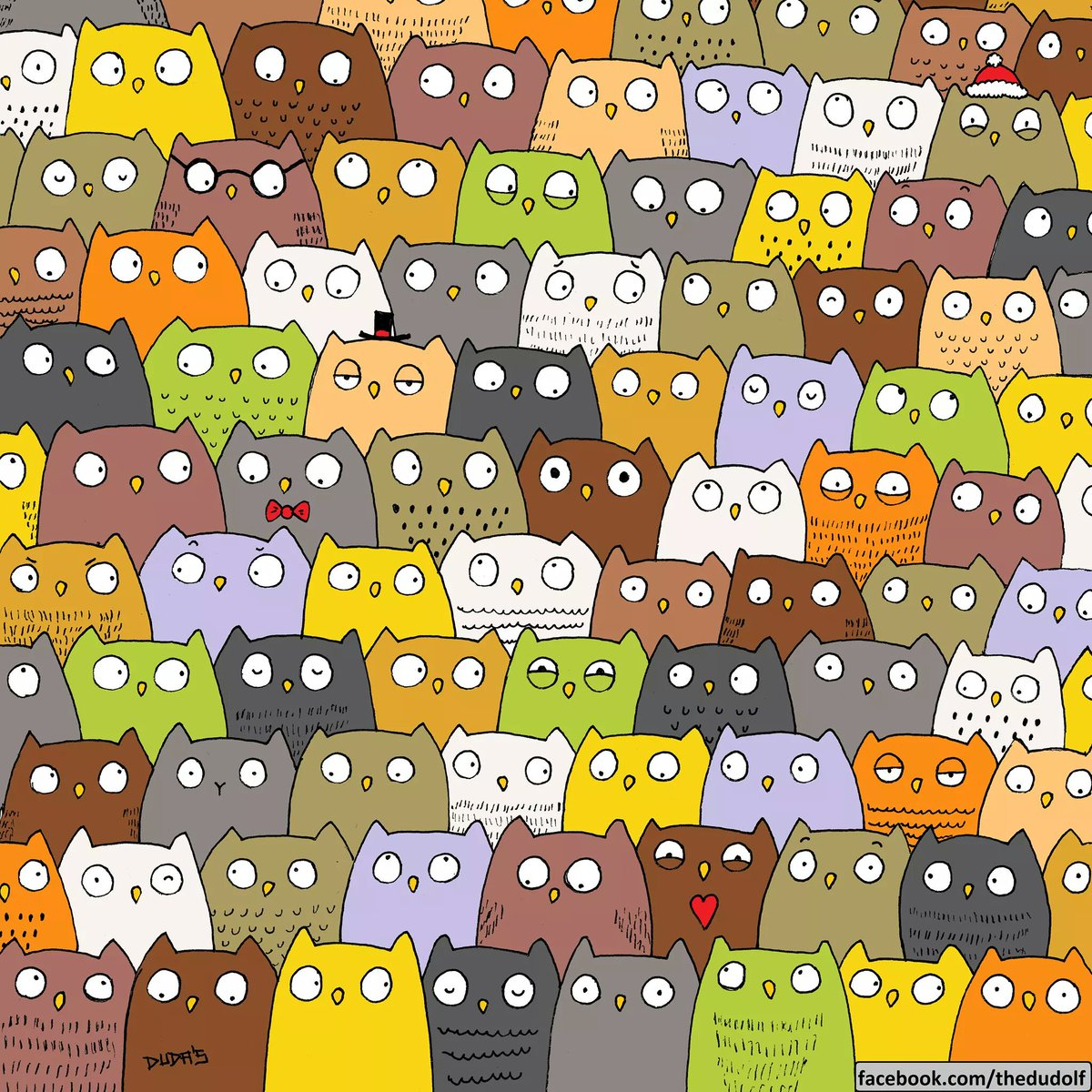 """Find the panda"" was easy, but this one is a bit tricky.  RT if you found the cat!"