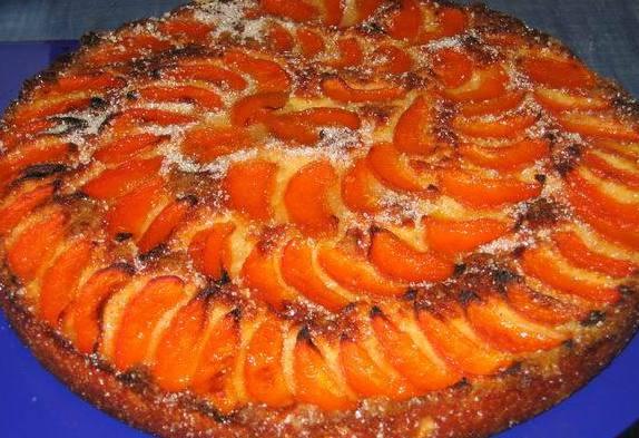 Фото рецепты творожный пирог с абрикосами