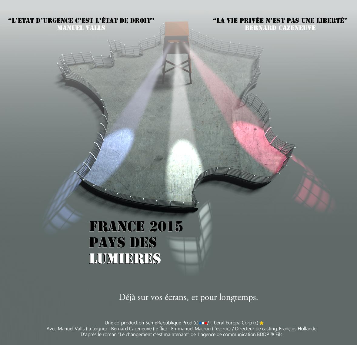 France 2015, pays des lumieres #etatdurgence https://t.co/dghQTv1boS