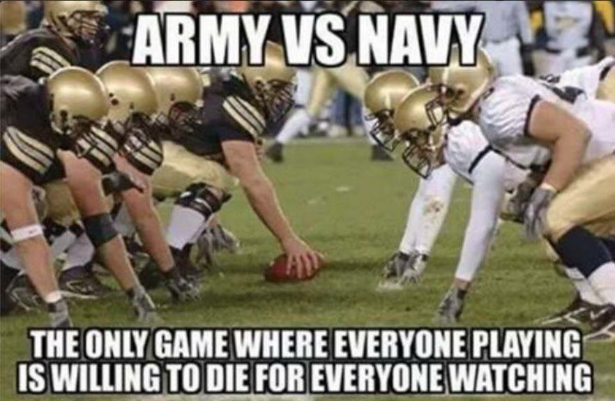 Truth. #ArmyNavy #NavyFootball #Navygameday https://t.co/dDJWQWFIiQ