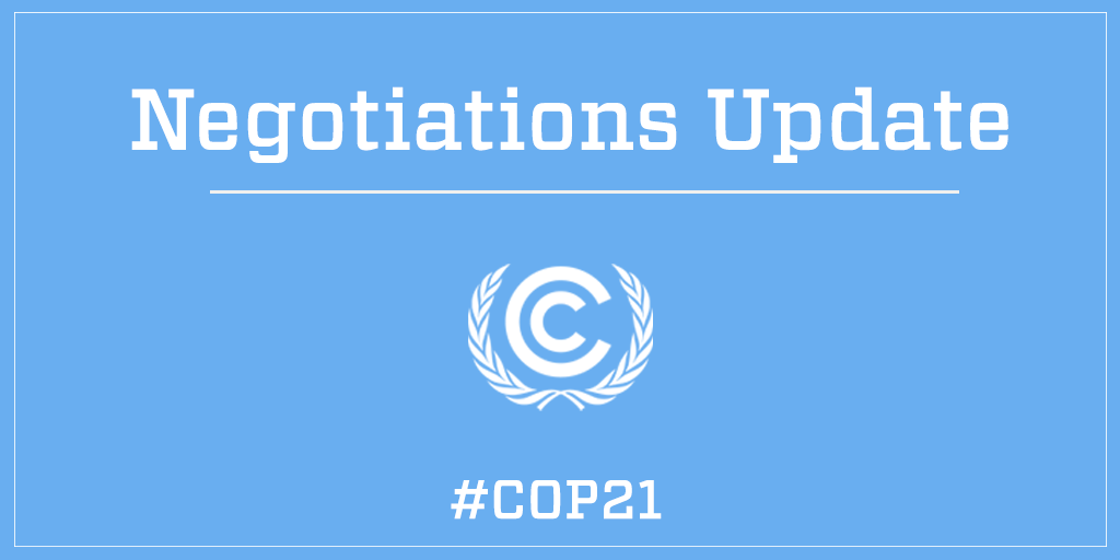 New Draft Paris Agreement of 12 December available here https://t.co/9Yjuhju8J5. #COP21 https://t.co/dWcJNQ2Jkd