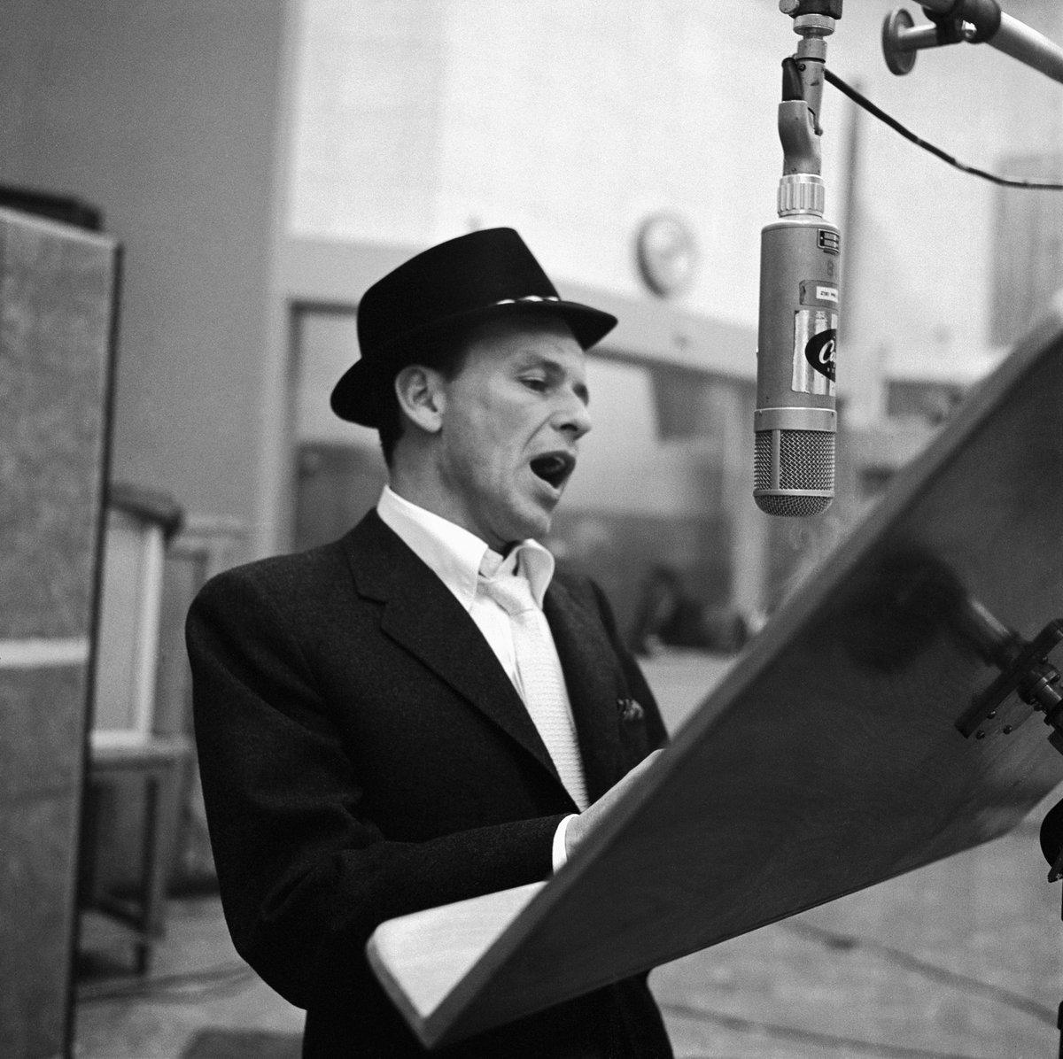 """May you live to be 100 and may the last words you hear be mine""-#FrankSinatra  Happy Birthday Frank! #Sinatra100 https://t.co/s51b28yTKe"