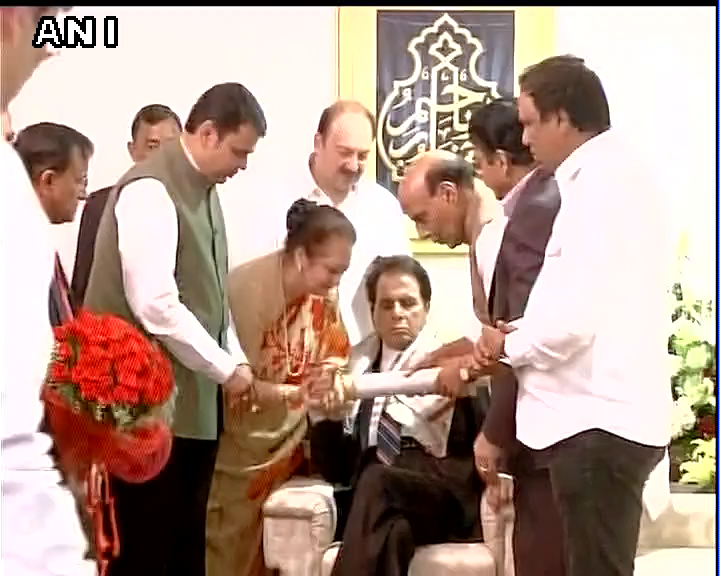 Home Minister Rajnath Singh Presents Padma Vibhushan To