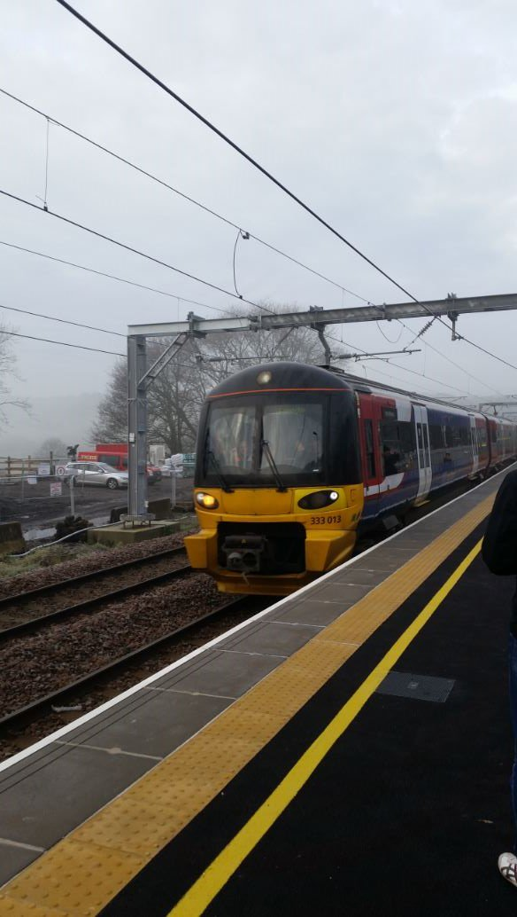 Today we ran the first train from #ApperleyBridge station for 50 years! Send us your pictures of the new station!