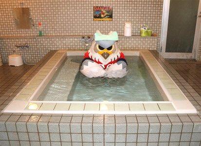 世界広しといえど本当に風呂に入るマスコットはドーレくんさんしかいないだろう! #世界よこれがJリーグだ https://t.co/daGURzSKTr