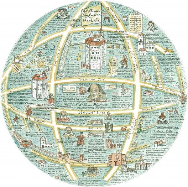 A Map Of William Shakespeare's Shordiche https://t.co/GEKU7ZvhyH via @thegentleauthor https://t.co/CqQkXTqouK