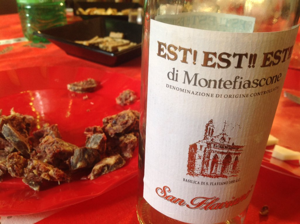 @Deliciousitaly enoyed best with a glass of Est! Est! Est! #LazioIsMe @tusciainrete #tuscia https://t.co/9U1jVBxN8T