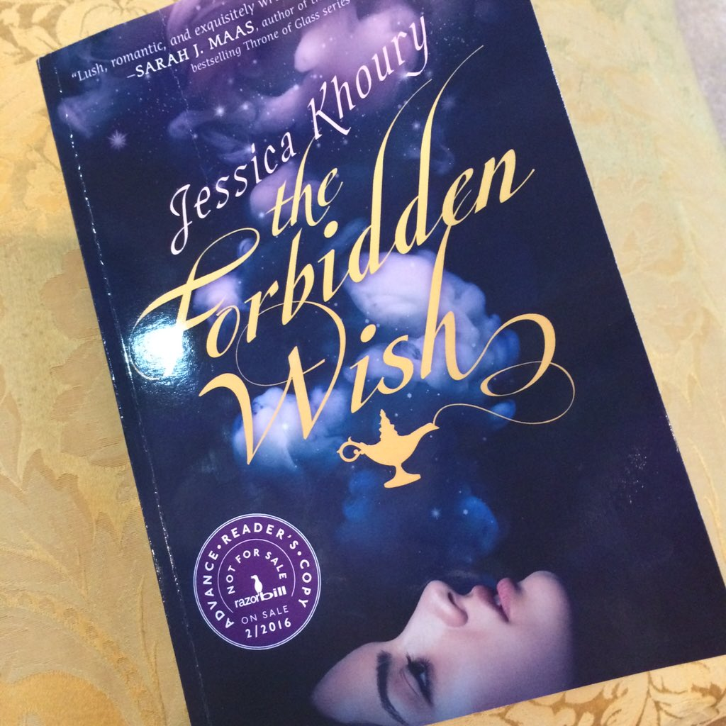 Win an ARC of The Forbidden Wish (SO good!) follow @jkbibliophile @LydiaYKang & RT to enter! Ends 12/15 US only. https://t.co/ZbbWTrPAOl