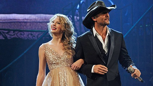 "Happy Birthday, T-Swizzle! How \bout we take it back to ""Tim McGraw\""?"