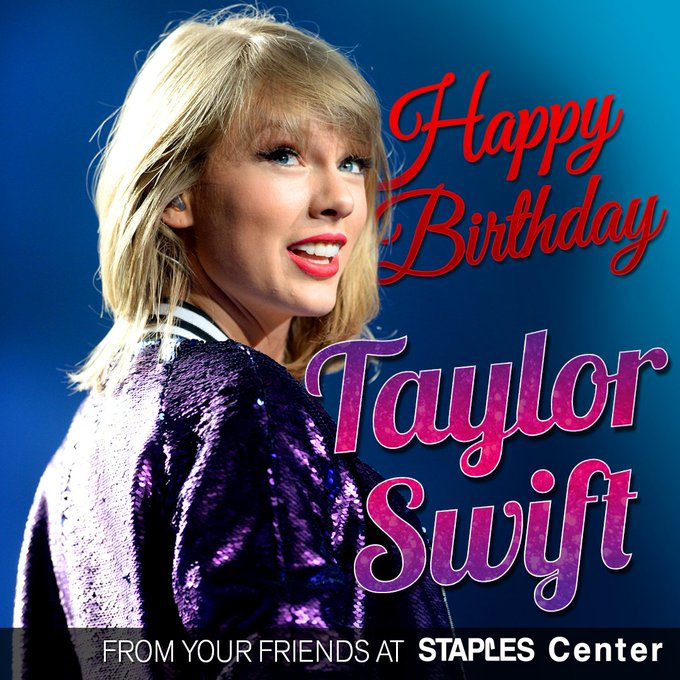 Happy Birthday to the incredible Taylor Swift!!