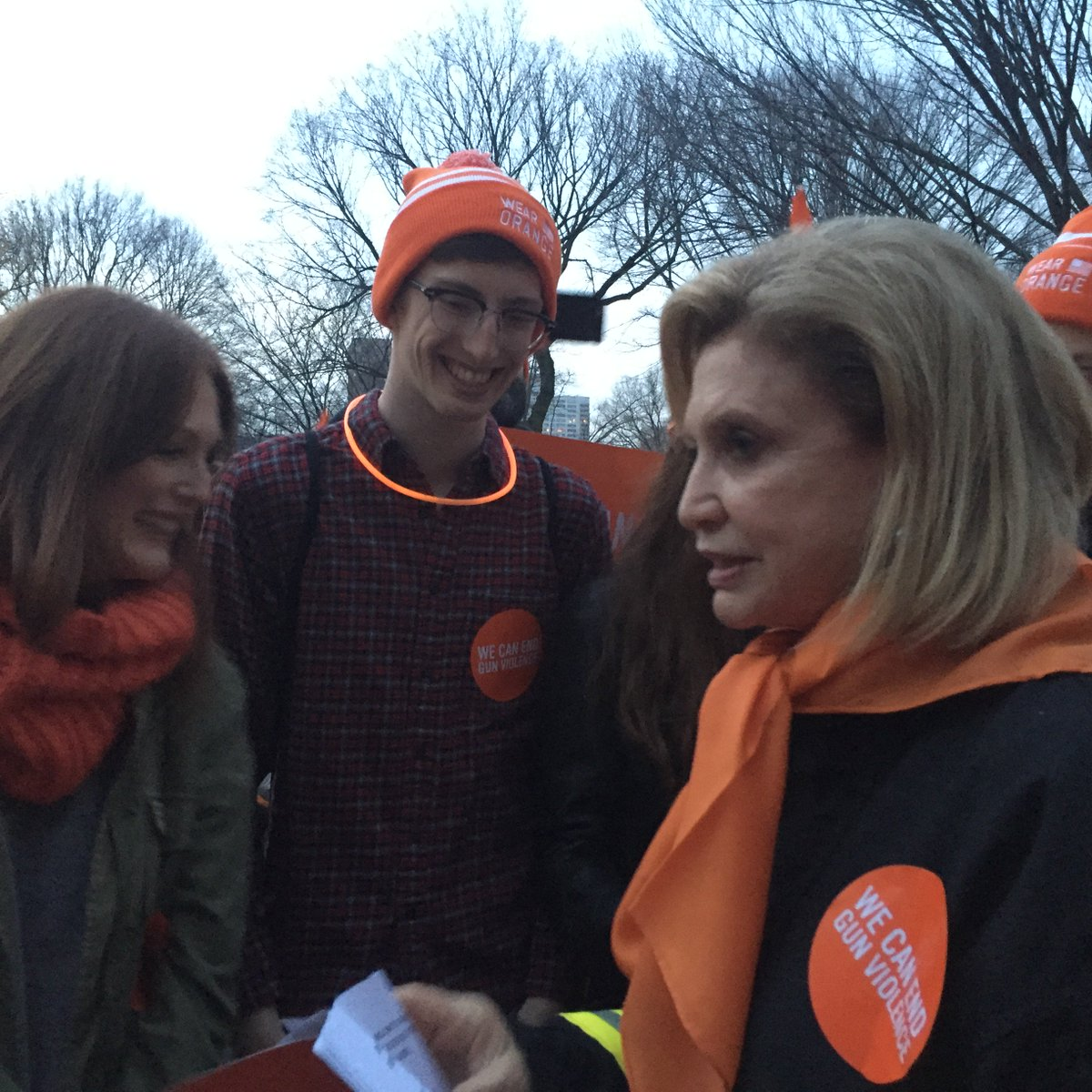 Earlier today I joined w/ @_juliannemoore  at @MomsDemand @Everytown #EndGunViolence rally https://t.co/XQp56f4G4I