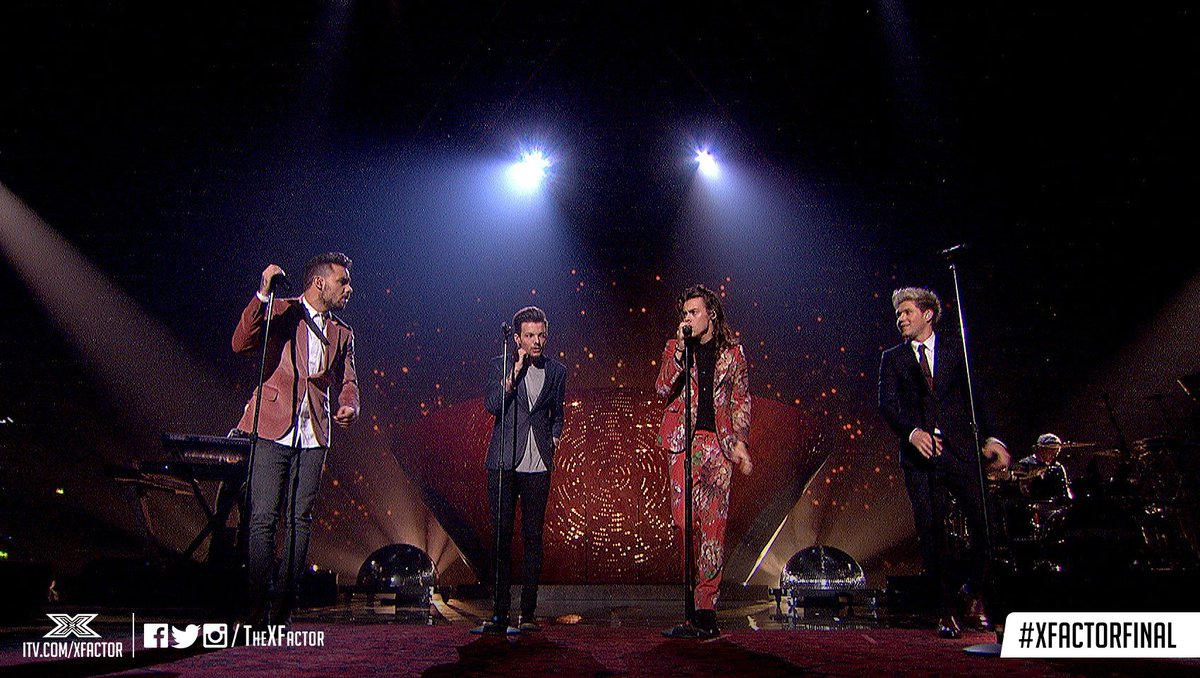You and us have a WHOLE lot of #History, @onedirection. Over five whole years. Welcome home.✨ #XFactorFinal https://t.co/OLdewk8XQD