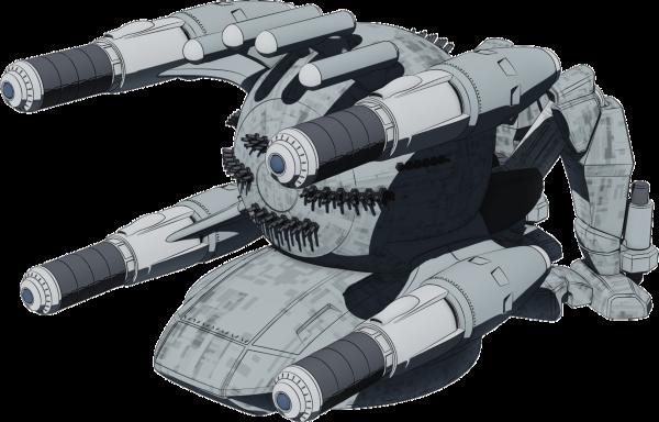 公式サイトにブライトホッパーを掲載しました。正統王国第52機動整備大隊の第二世代オブジェクトです。 #heavyobje