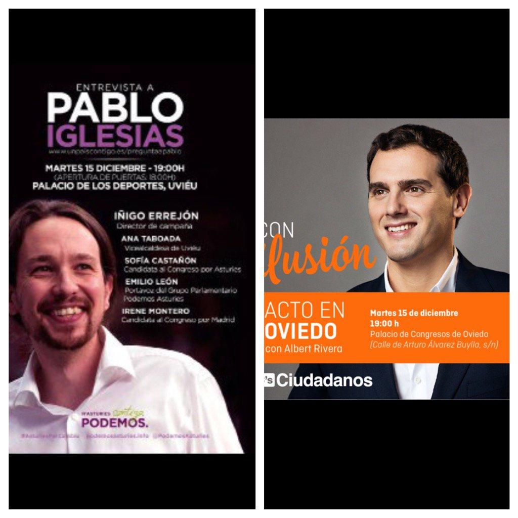 Oye @Pablo_Iglesias_ @Albert_Rivera ya que vienen a oviedo el mismo día: Que tal compartir taxi? tl . 615980000 https://t.co/oNXzWqv4oW