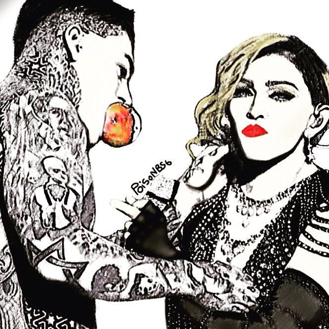 An Apple a day..,,.......... Manchester who will take the next bite? Unapologetic Bitch‼️❤️ #rebelhearttour. https://t.co/jzmeGfJkNz