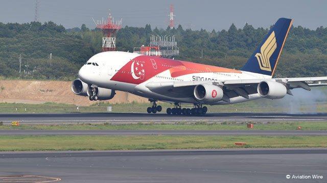 シンガポール航空、A380模型やマイル2倍キャンペーン 国交樹立50周年記念で