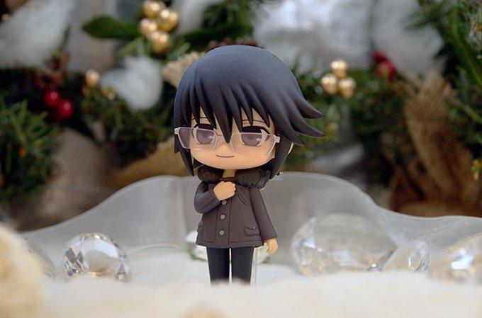 【K ROK アニくじ】D賞 宗像のフィギュア画像クリスマスver.を公開!ぼっちでも寂しくないですよ? 全国アニメイト
