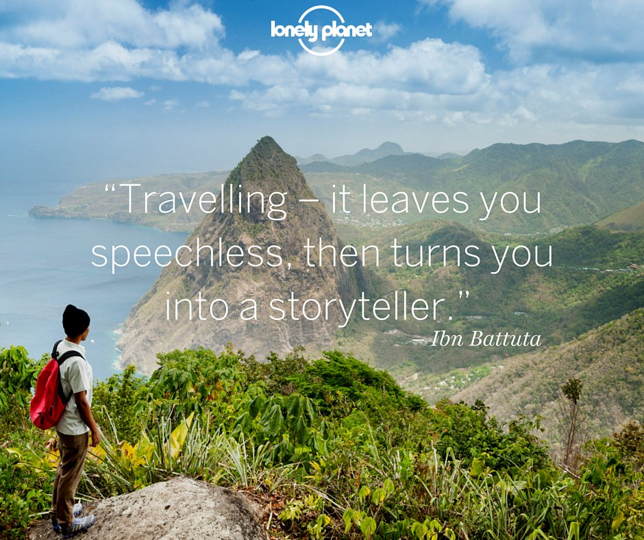 What's the best experience you've had while travelling that makes a memorable travel tale? #travelquote https://t.co/cWeVuWkQUs