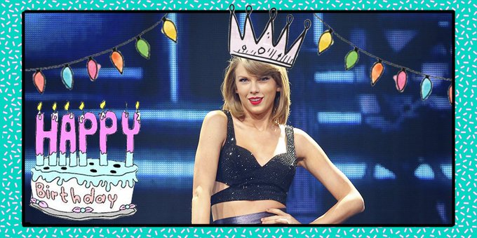 Nearly every celebrity in the whole world wished Taylor Swift a Happy Birthday