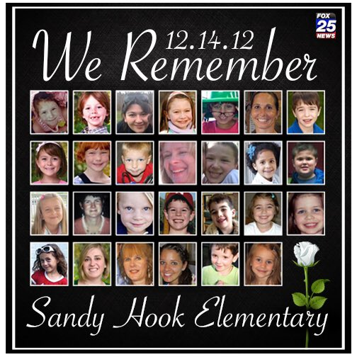 Today, we remember the lives lost & the families & friends who have to live with that loss every day. #SandyHook https://t.co/dMfl5vkB8a