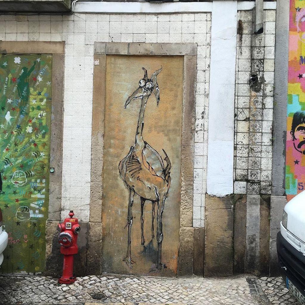 Street art. Barrio Alto. #Lisbon. #Portugal. #travelphotography #streetart https://t.co/jDIxS2NtRG https://t.co/vOsxHG2EyQ