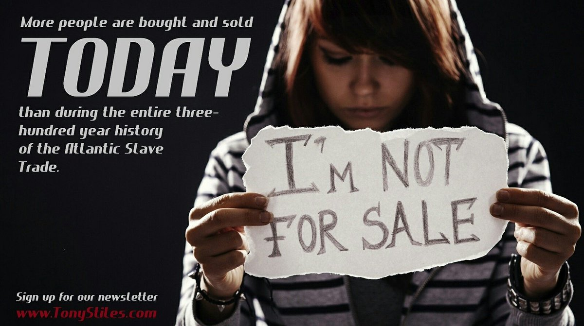#HumanTrafficking numbers are at an all time high. #RT and take part in spreading awareness. #EndSlavery #BAMN https://t.co/mihdrrELY8