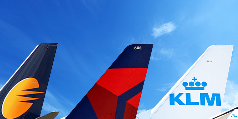 KLM and Delta announce codeshare partnership with Jet Airways