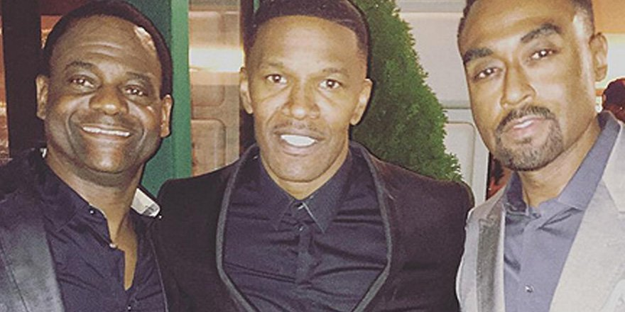 Jamie Foxx celebrated his 48th birthday with a star-studded surprise party in N.Y.C.