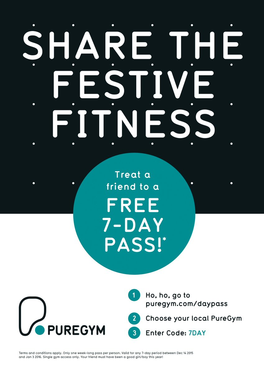 #Free7Day Share the festive fitness! Ho, ho, go to https://t.co/ZgxyW93d5f and enter code 7DAY! #RT https://t.co/176SA005Wb