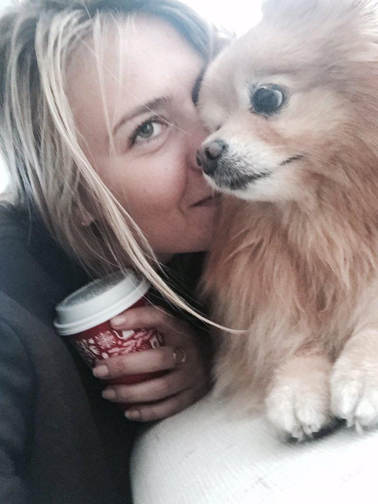Thanks @peetscoffee for keeping #MariaAndFriends warm through the weekend. You know how much Dolce loves his Chai ???? https://t.co/auo22PcZAl