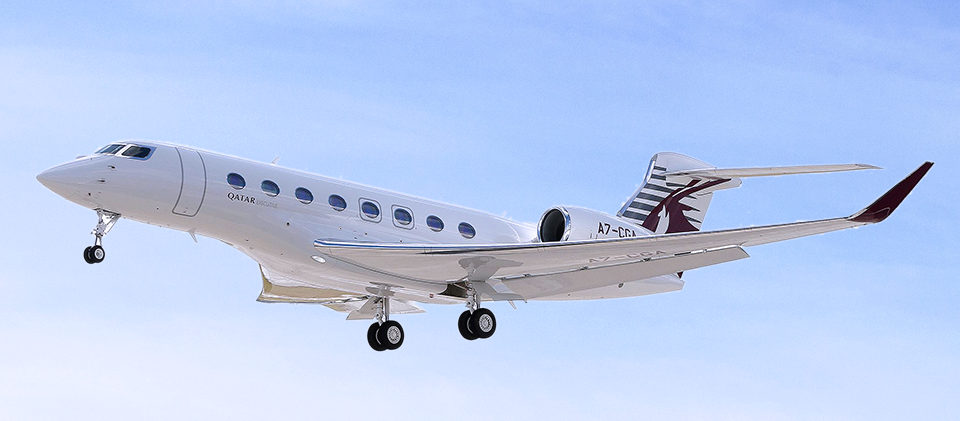 Say hi to the Gulfstream G650ER, the newest Qatar Executive jet. Watch how it was made: