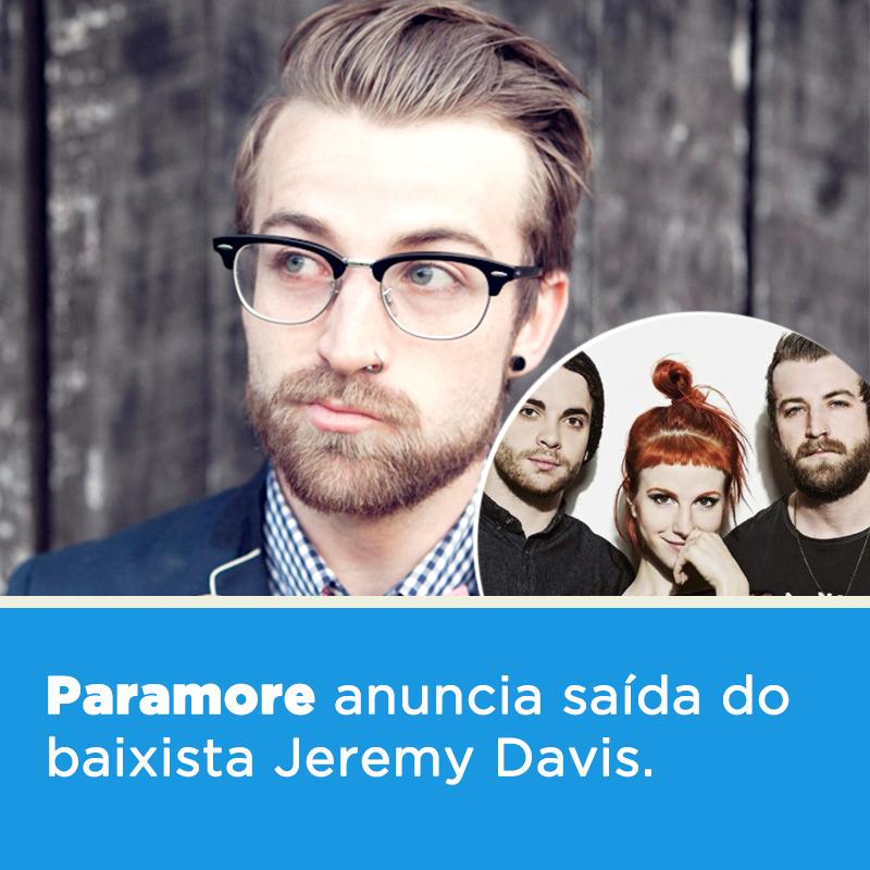 A terça-feira começa com uma triste notícia para os fãs do @Paramore -> https://t.co/4nM0nkVxXI https://t.co/uxGTvkCAsR