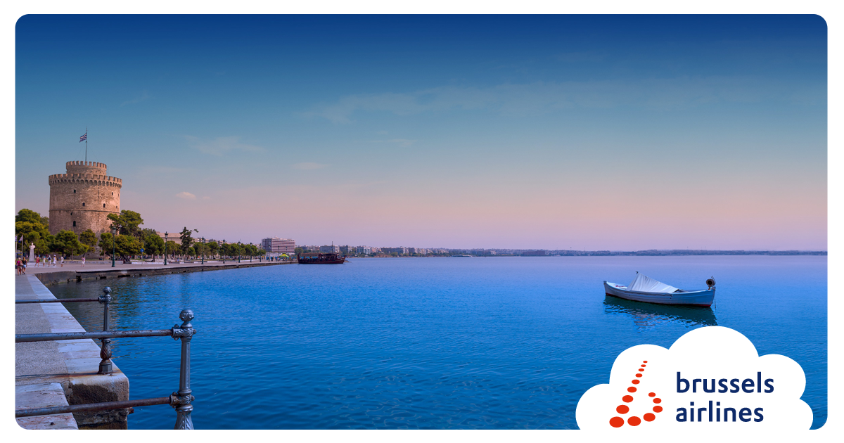 RT @FlyingBrussels: Starting in May '16, we'll operate 2 weekly flights to Thessaloniki! Bookable from today >> ht…