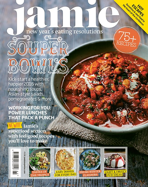 RT @JamieMagazine: Our January issue hits the shops TODAY! Pick one up for everything you need to kick off the New Year in style https://t.…