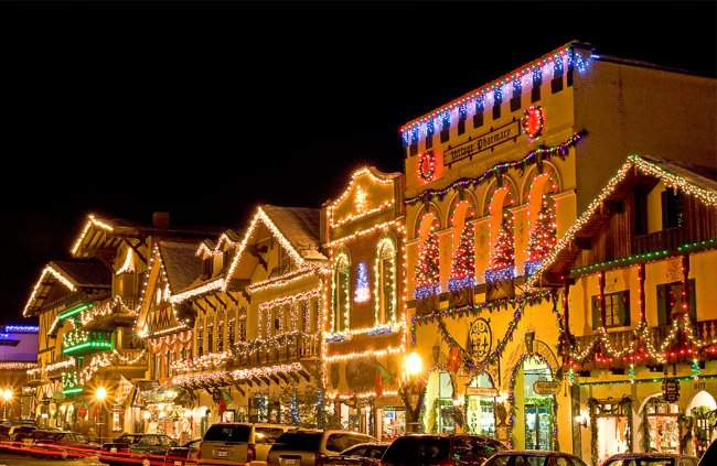 looking for the best place to visit for the holidays christmas town usa has the - Best Places To Visit At Christmas