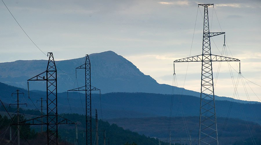 Russia doubles electricity supply to Crimea