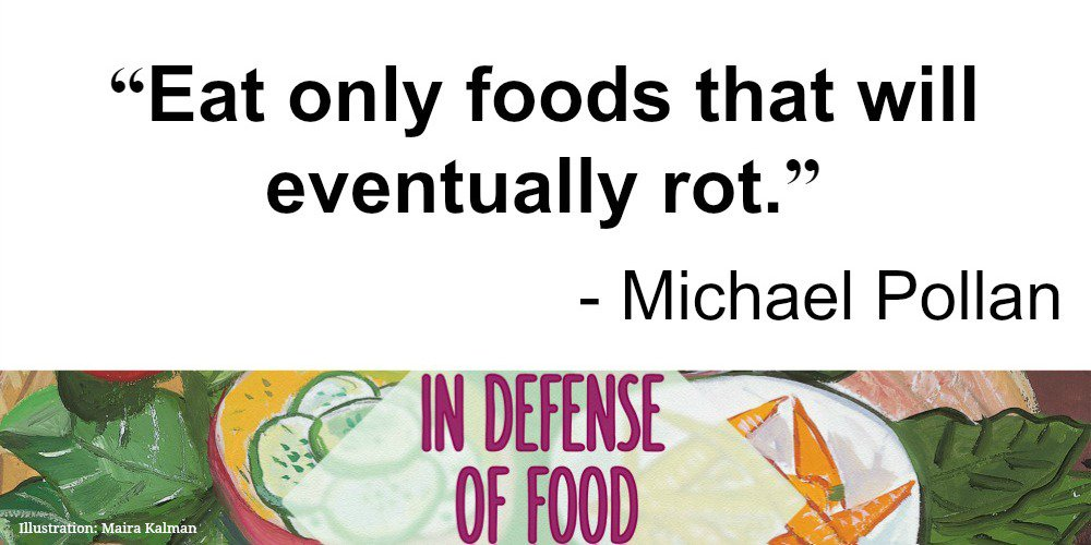 * A Food Rule by @michaelpollan * Tune in Weds 12/30! #InDefenseofFoodPBS https://t.co/XHlAyQSqEp https://t.co/jmCjnLQ9BD