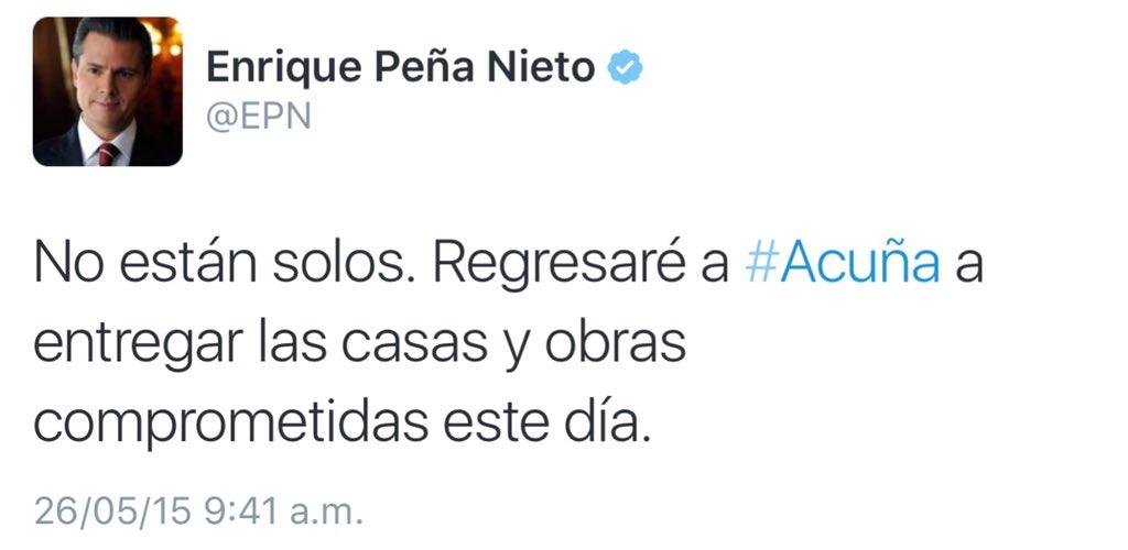 Despegando rumbo a Coahuila, para cumplir mi palabra con las familias afectadas por el tornado del 25 de mayo https://t.co/zGIkjNgXgD
