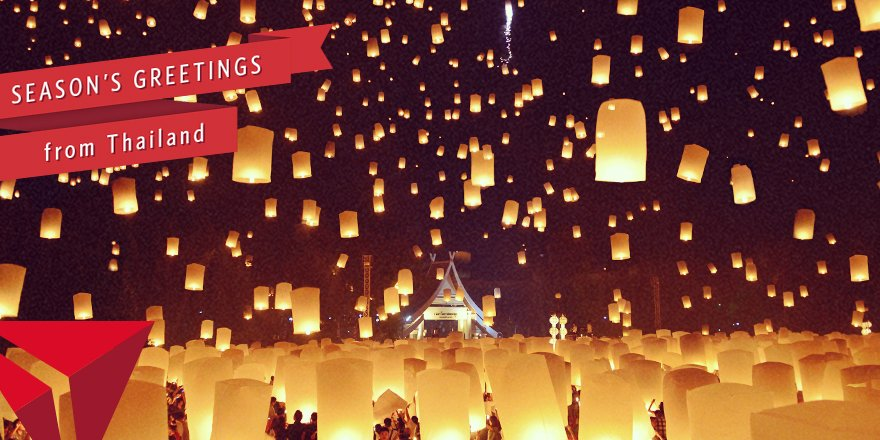 Loi Krathong, the Thai festival of light, ignites the sky every November.