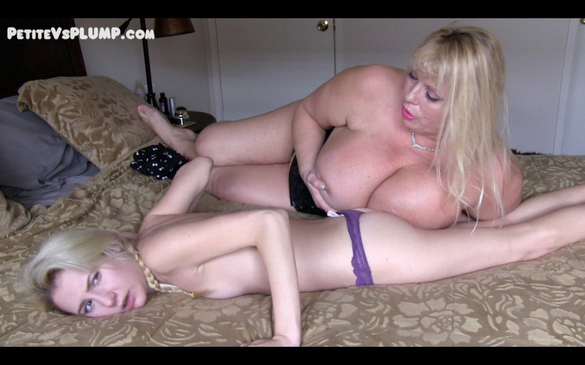 NEW! evades evictioinby using her huge #tits as a weapon. lASRTDi2fT #PetiteVsPlump