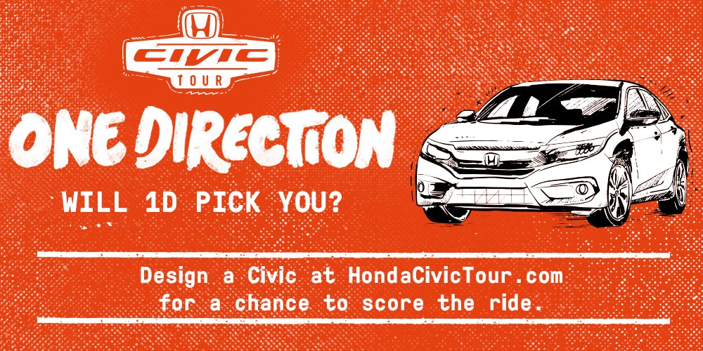 Will @onedirection pick you? Enter now: https://t.co/gWlkTRx4hw (NoPurNec US/18+ See Rules) #1DCivicDesignContest https://t.co/adALMsQejU