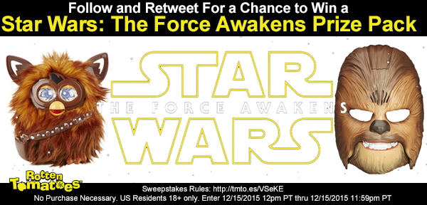 Follow & RT 4 a chance 2 win a #StarWars Prize Pack No Purc Req US18+ #Sweepstakes Rules https://t.co/eka4oXUkSx https://t.co/2PDq7MlvtZ