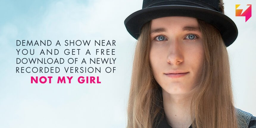 Bring @SawyerFrdrx to your town! Submit your city & get a free download of 'Not My Girl': https://t.co/GHQ226dM9d https://t.co/thMozJItvM