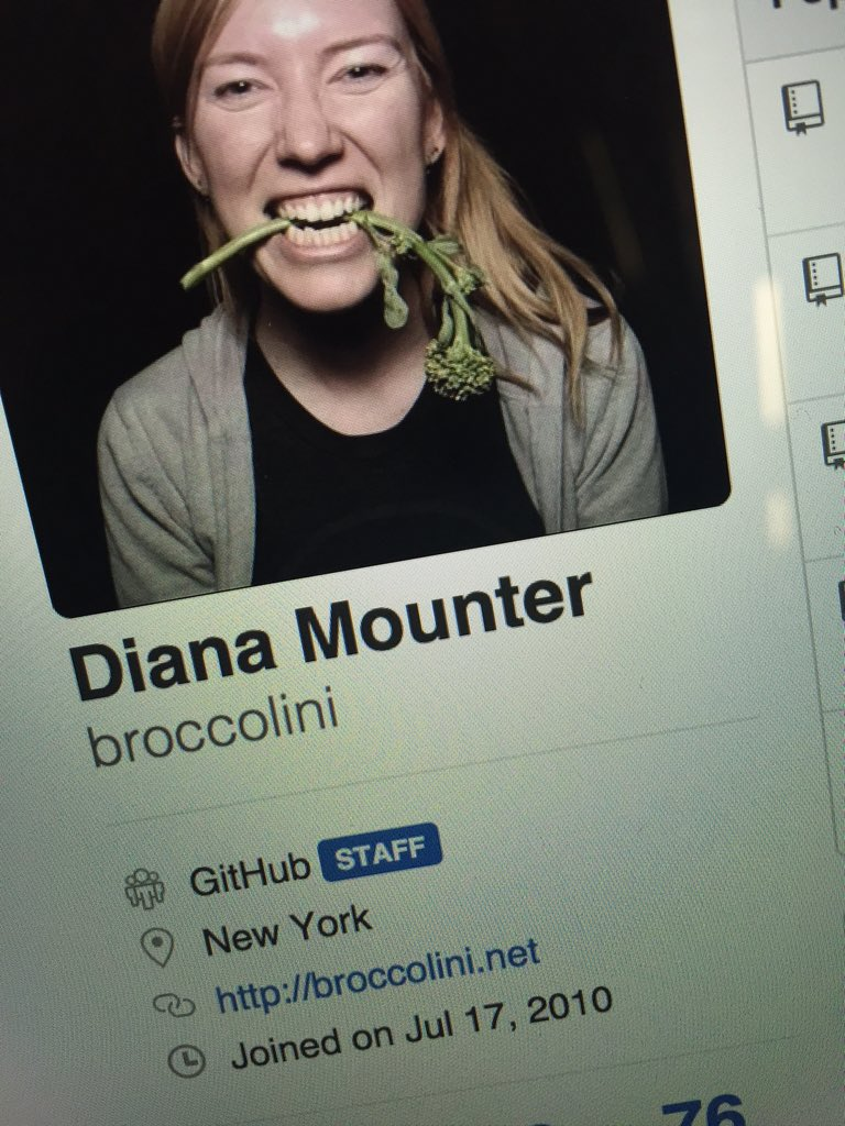 So I got a new badge on my @github profile today
