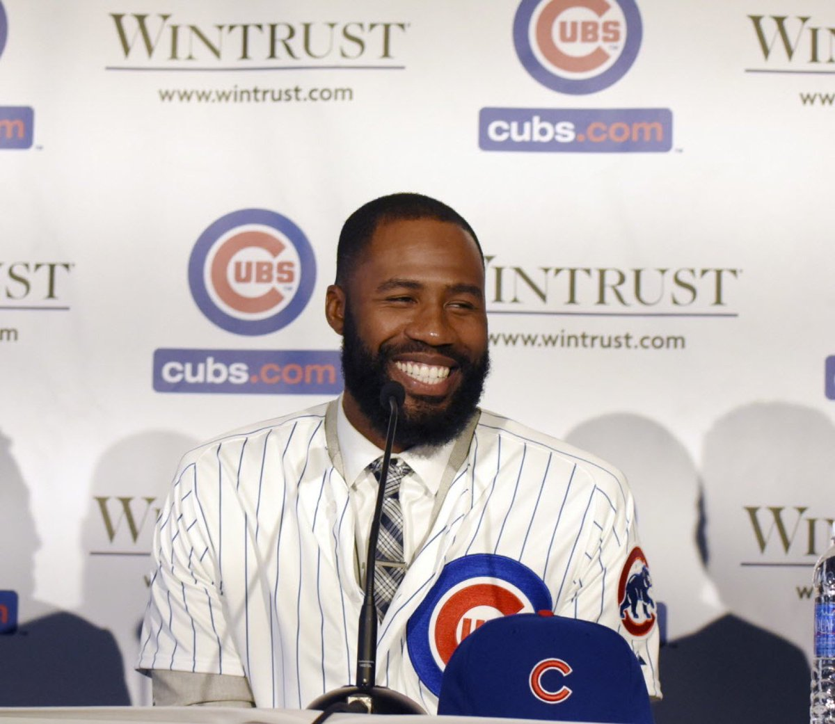 One more of Jason Heyward  #Cubs  Photo by David Banks, Getty Images https://t.co/jlbUAukTqN